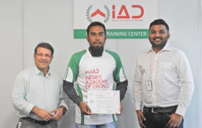 Drone training certification