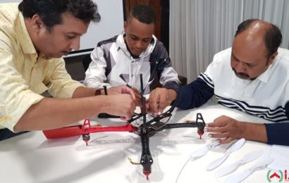 drone assembly session