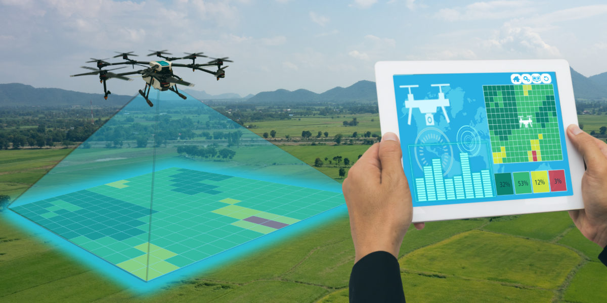 complete guide to land mapping using drones